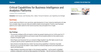Gartner Critical Capabilities