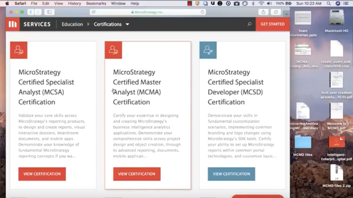 Data Analytics White Papers Webinars More Microstrategy
