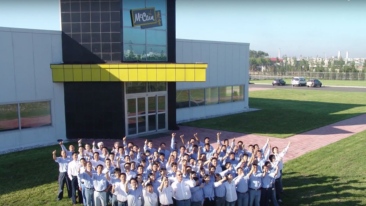 Video - McCain Foods Embraces Analytics to Transform the Way