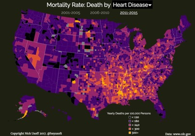 heart disease mortality rate