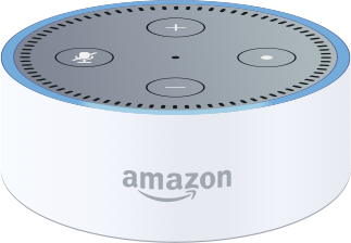 Amazon Dot device
