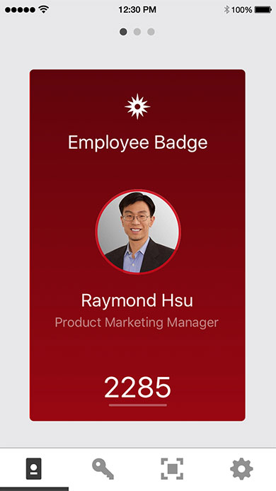 Employee Digital Badge