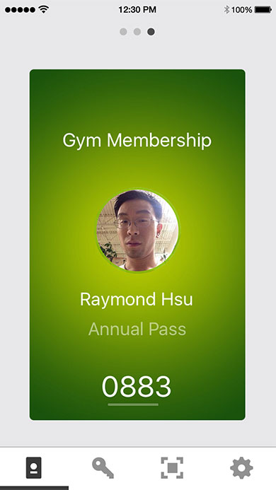 Gym Digital Badge