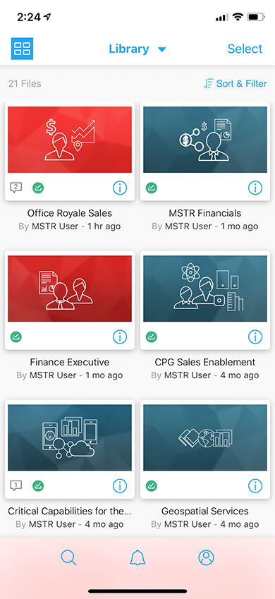 Mobile Analytics & Digital Transformation Apps | MicroStrategy