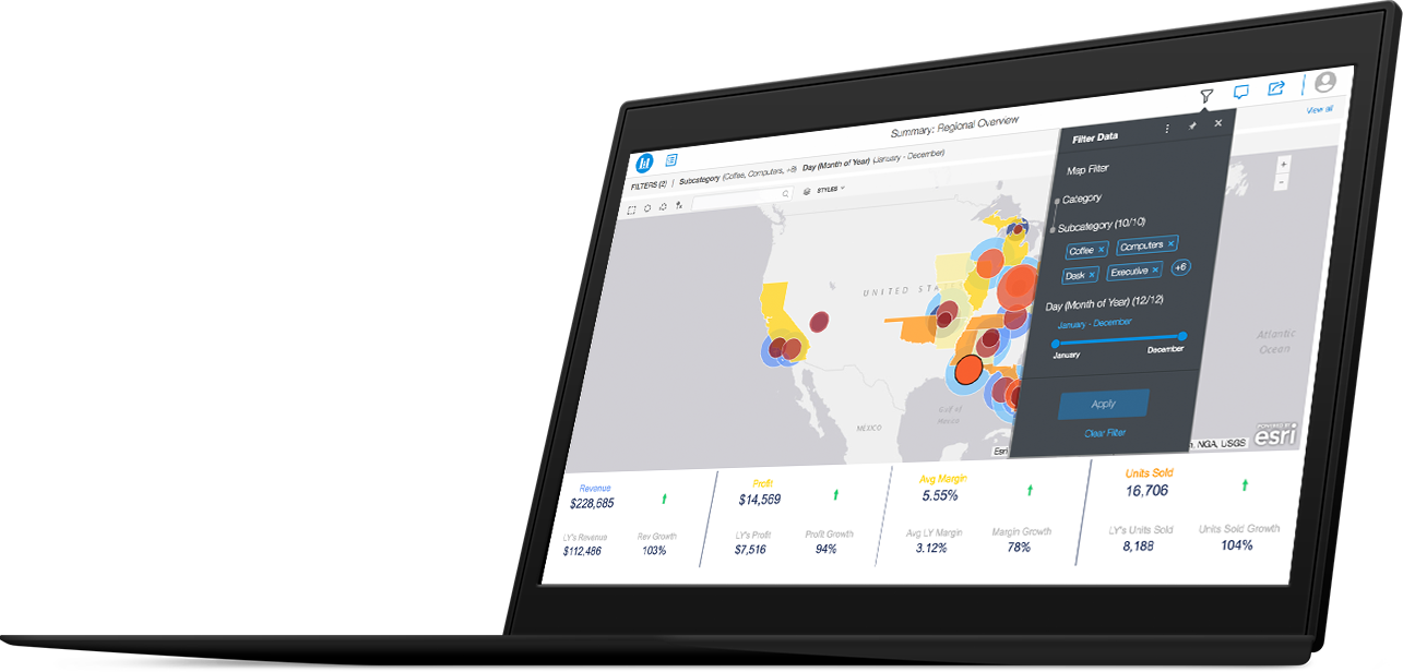Dashboards & Visualizations - Discover Your Data | MicroStrategy